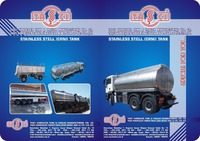 Stainless Steel Crni Tanker Truck