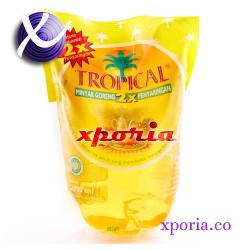 Tropical Cooking Oil Pouch 2l | Indonesia Origin