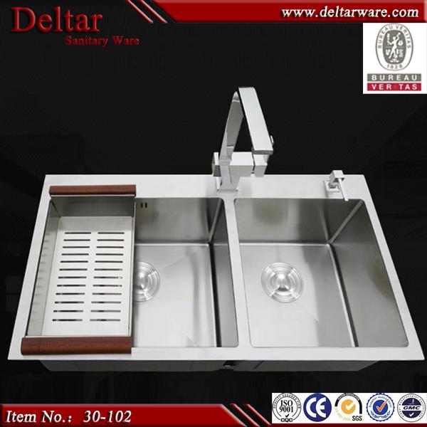 Kitchen Sink Yang Bagus Merk Apa: Ukuran Kecil Ganda Bowl Dapur Sink_high Kualitas Harga