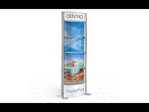 Zoom Display - Centro Showcase - Exhibition product display stands