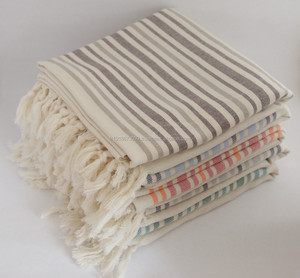 Linen Peshtemal - Authentic Turkish Hammam Beach Towel, fouta towel