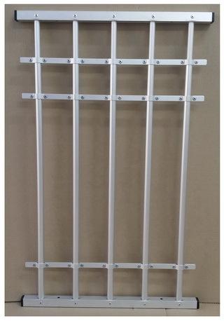 Adjustable Aluminum Window Guard 5 Bars   Kids Saver   DIY Quick And Easy  Install