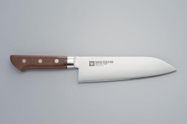 Japanese Kitchen Knife Made In Sakai Osaka Swedish Steel Knife For Wholesale