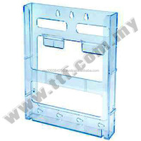 Wall Mount Brochure Holder (a5 4 Compartments),Acrylic Display ...