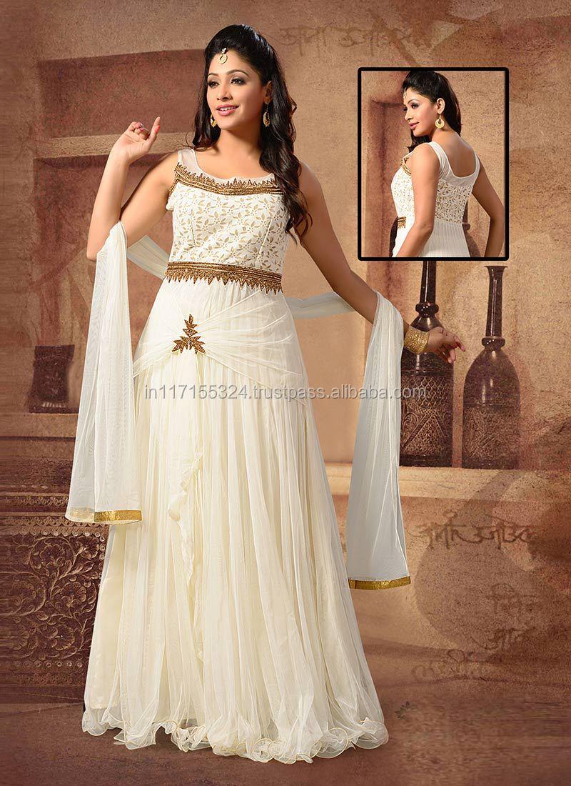 Lovely Wedding Wear Net Floor Touch Anarkali Suitspakistani Salwar Kameez 3 Picec Suit