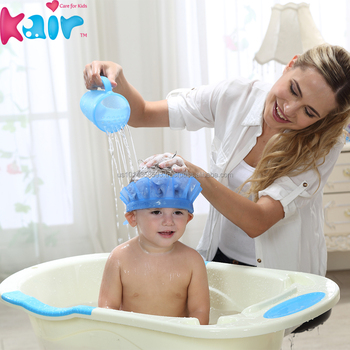 Eco Friendly Baby Shower Hat/ Baby Shampoo Hat /baby Protective Hat