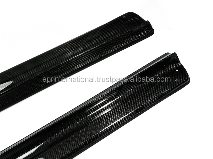 For Subaru BRZ Toyota FT86 GT86 Scion FRS Carbon Fiber PJDM Style Side Skirt Extension