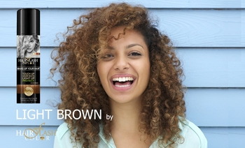Hair Flash Color Light Brown Natural Hair Care Temporary Color