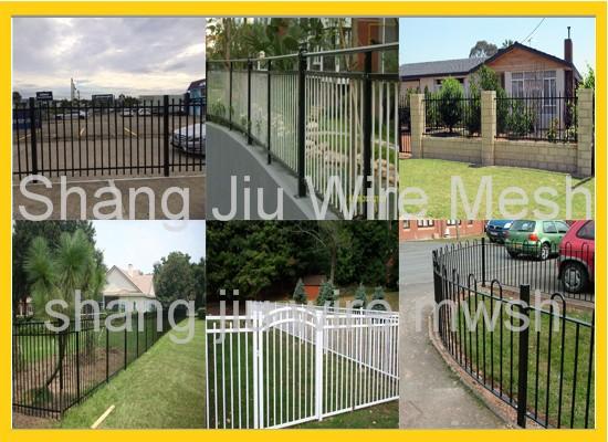 Boundary Wall Gates RailingOutdoor Gate DesignSteel Tubular