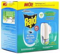 Raid Electric Liquid Kit Anti Mosquitoes Eucalyptus Oil - Buy Raid ...