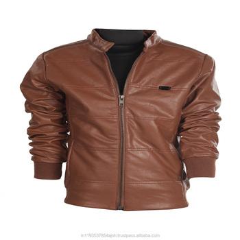 Trendy Stylish Boys Leather Jackets Custom Movie Leather Jackets