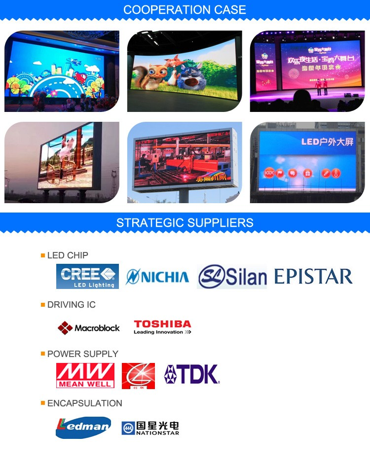 2016 Most Popular Xxxxxx Video China Led Video Display