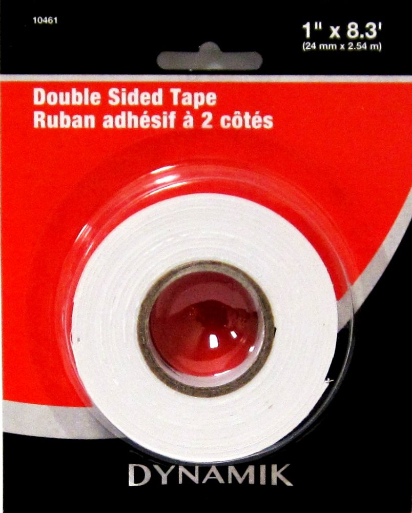 DOUBLE SIDED TAPE 24MM X 2.54M