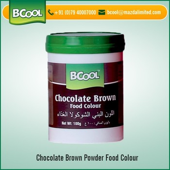 Baking Purpose Chocolate Food Color Powder For Export Sale - Buy ...
