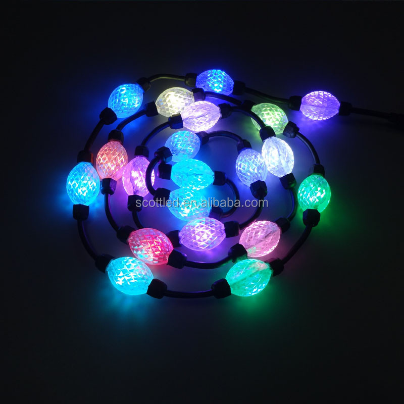 3D Pixel Led ball lights, WS2811, DC12V/DC24V, Outdoor/Indoor rated