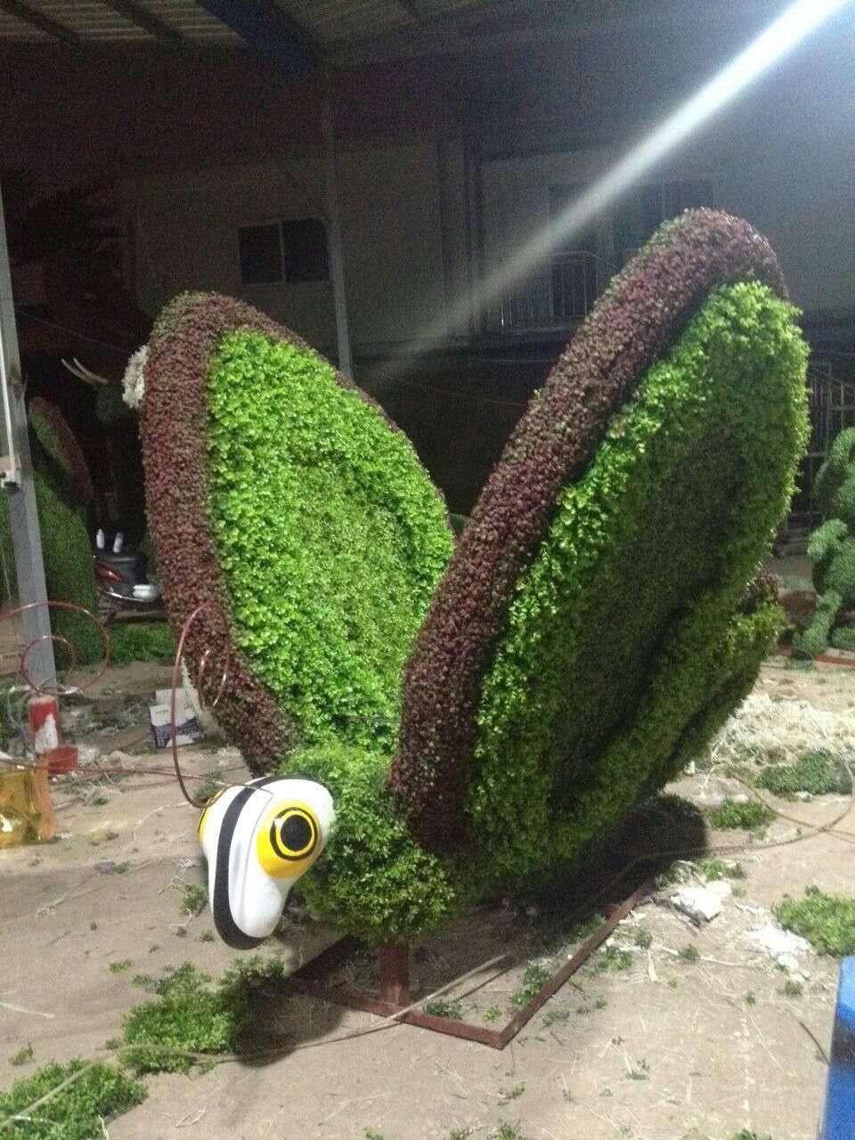 Alta Imitación Topiario Animales Boj Topiary Plantas Artificiales En ...