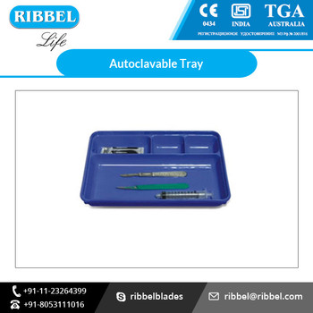 Surgical Instruments Carrying Autoclave-able Tray At Wholesale Price - Buy  Autoclavable Plastic Tray,Plastic Surgical Tray,Disposable Surgical Trays