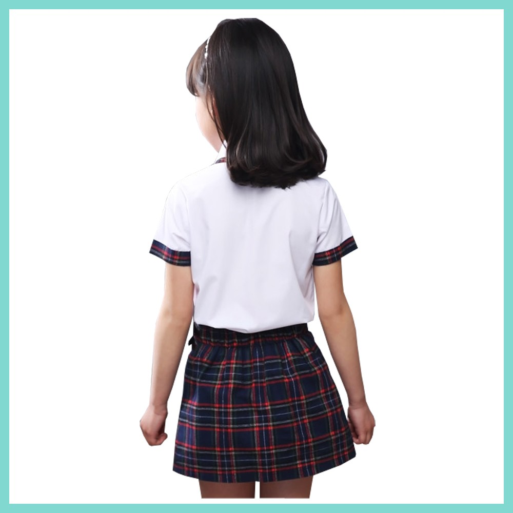 La Escuela Coreana Niñas Uniforme Fotos/uniforme De La Escuela ...