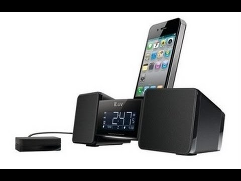 iLuv Vibro II Alarm Clock 30-Pin Speaker Dock with Bed Shaker Unboxing - TimmyTechTV
