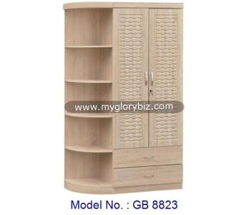 Wardrobe With Showcase Cabinet, Special Wardrobes Designs, Bedroom Wooden  Wardrobe