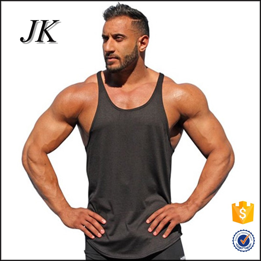 e243d24600adf Cheap Mens Workout Tank Tops Wholesale Bodybuilding Stringer Tank ...