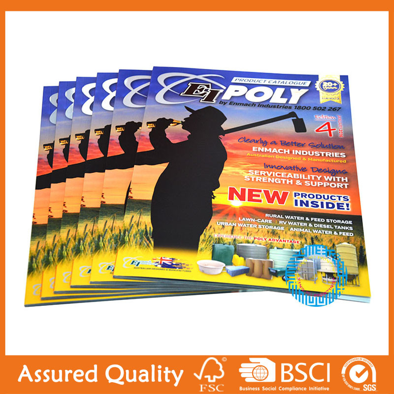 Large quantity wholesale catalogue printing service