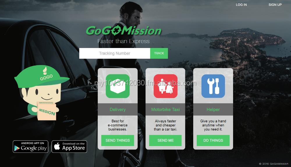 Uber Didi Grab Myteksi Clone On-demand Transporte Entrega Imediata De  Correio Logística Ios Android App Software System - Buy Desenvolvimento De