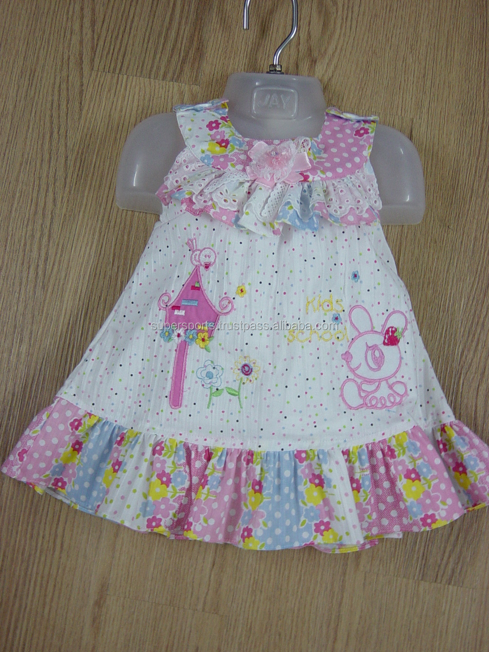 8b751f3c6745 Most Fashionable Girls Cotton Frock - Buy Girls Fashionable Cotton ...