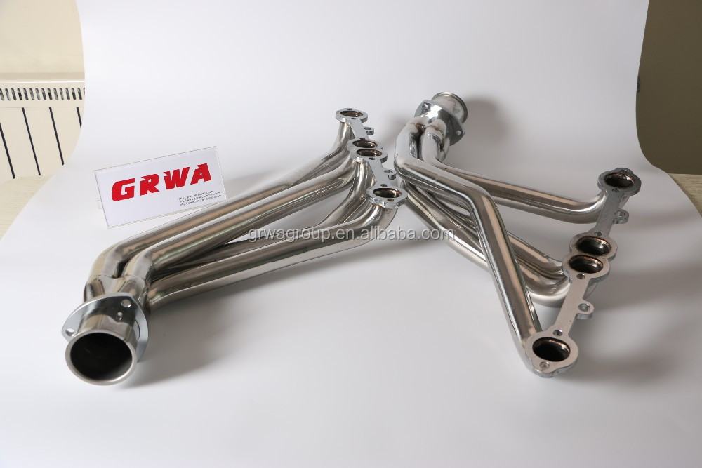High Flow Performance Racing Exhaust Header Manifold For Chevy Small Block  307/327/305/350/400 - Buy Exhaust Header,Exhaust Manifold Header,Exhaust