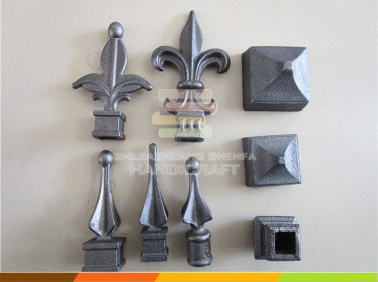 Wrought Iron Collars For Gate Cast Iron Fence Decoration