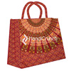 Graceful Mandala Indian Shopping Bags for woman