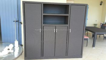 Poly Rattan Cabinet , Synthetic Rattan Cabinet, Wicker Funriture , Outdoor  Rattan Vietnam
