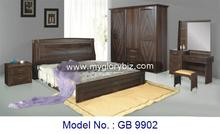 Stylish Antique Look With Unique Designs MDF Latest Bedroom Sets Furniture Classic Appearance For Home