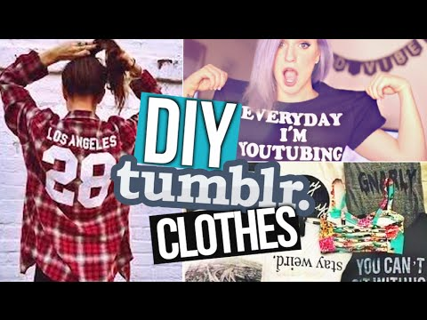 DIY Summer Shirts! ? Tumblr Inspired