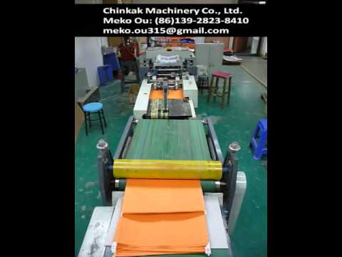 Automatic suspension file hanging file folder making machine