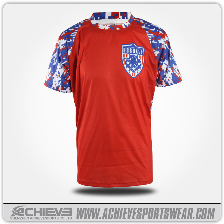 Factory Supply Custom Design And Printing Soccer Shirt