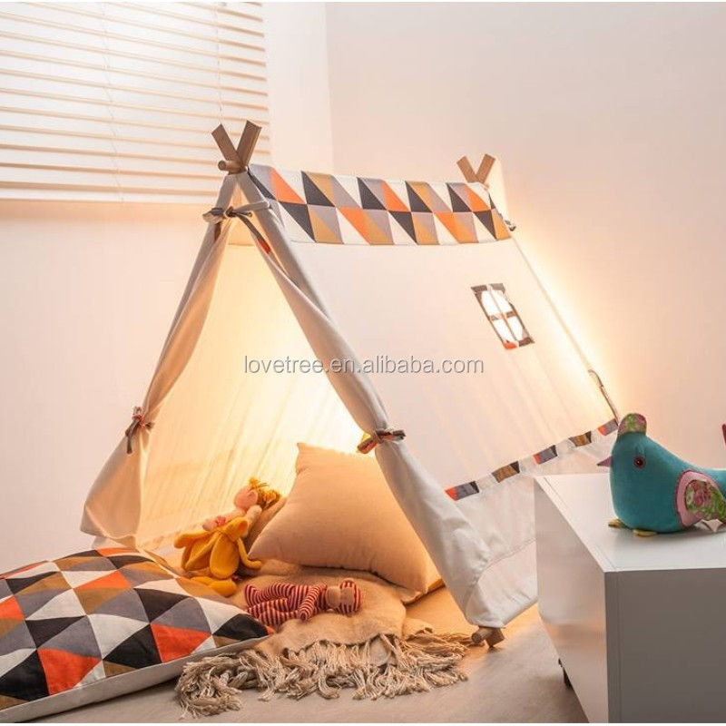 Kids A Frame Tent Child Tent Playhouse Tipi Tent For Children For Outdoor Indoor Use & Kids A Frame Tent Child Tent Playhouse Tipi Tent For Children For ...