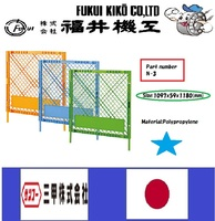 Long-lasting and Reliable safety barrier fence at reasonable prices , Material is plastic