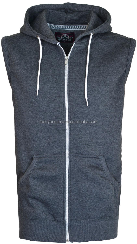 2014 Custom Sleeveless Hoodie Manufactuer Wholesale Fitted Hoodies ...