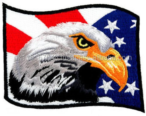 MACHINEREY EAGLE FLAG PATCH EMBROIDERY