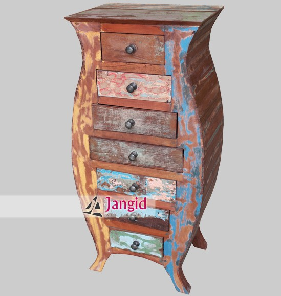 rustic recycled wooden import furniture india