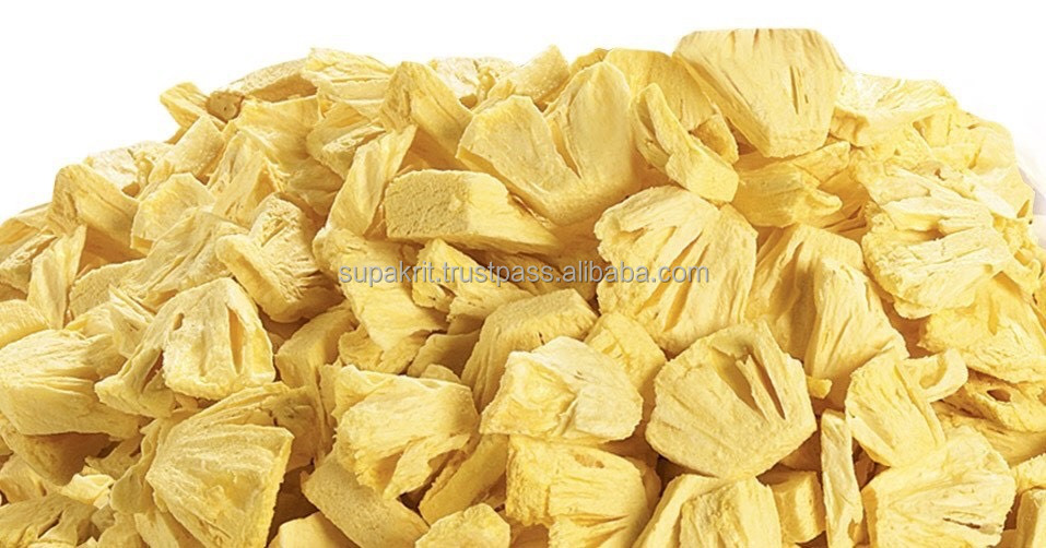 Thailand Dried Fruit - Vacuum Freeze Dried Pineapple Bulks ...