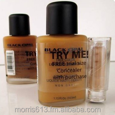 Black Opal True Color Liquid Foundation Oil Free with Concealer 1.15 Oz