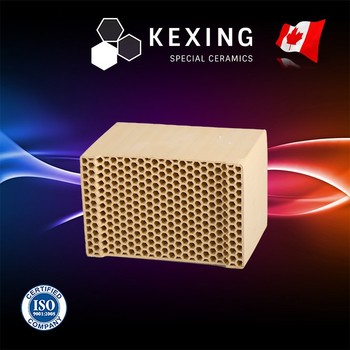Chrome Corundum Mullite Honeycomb ceramic Structured Media for RTO RCO