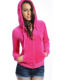 Women Fleece shirts with hood jogging wear shirts, ladies track suits