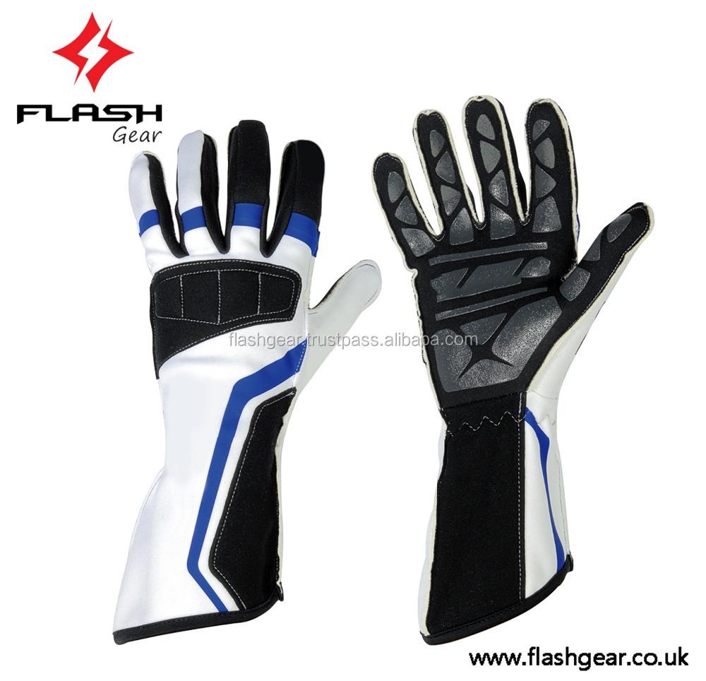 Driving gloves racing - Flash Gear Gloves Cik Fia Homologation Kart Gloves Kart Driving Gloves Kids