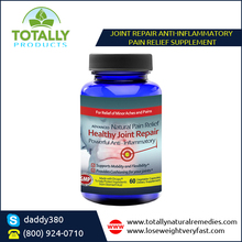 Joint Repair Supplement with Natural Herbal Extracts and Drug-Free Ingredients
