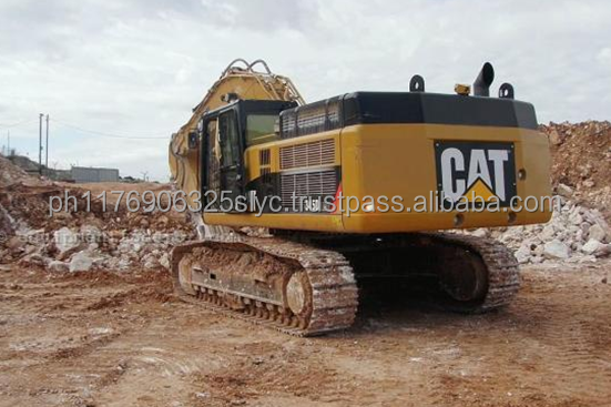 Used Construction Equipment from America Caterpillar 345D Excavator / Used Cat 345D