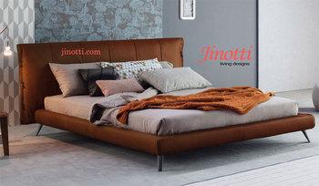 Nuovo design italiano king size queen size letto matrimoniale in