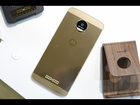 moto z and moto z force hands on | Moto Z and Moto Z Force Review | Moto Z Impressions!